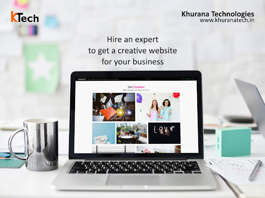 Hire an expert to get a creative design for your business