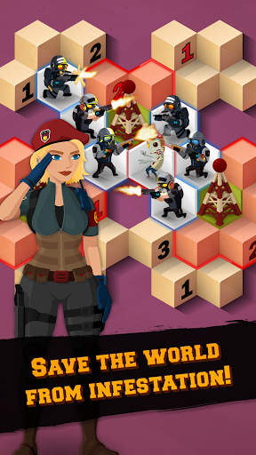Zombie Sweeper: Minesweeper Action Puzzle 1.2.017 screenshots 2