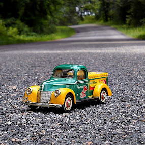 Old Truck by James Cole - Artistic Objects Toys ( toys )