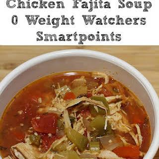 Slow Cooker Chicken Fajita Soup.