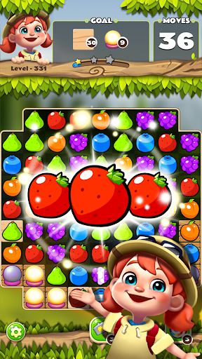 Fruits POP : Fruits Match 3 Puzzle android2mod screenshots 4