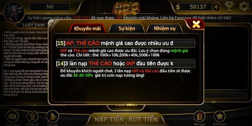 Game bu00e0i nhu1eadn quu00e0 khu1ee7ng - HDG 1.200221 screenshots 10