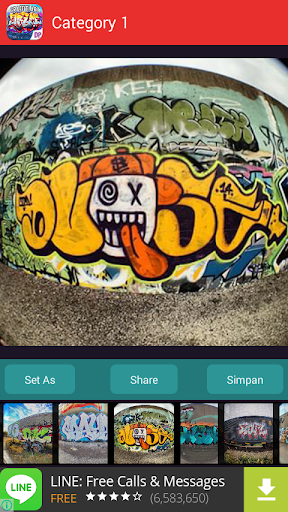 Graffiti Art Wallpapers Theme