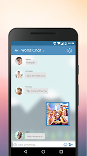 JustSayHi - Chat, Meet, Dating- screenshot thumbnail