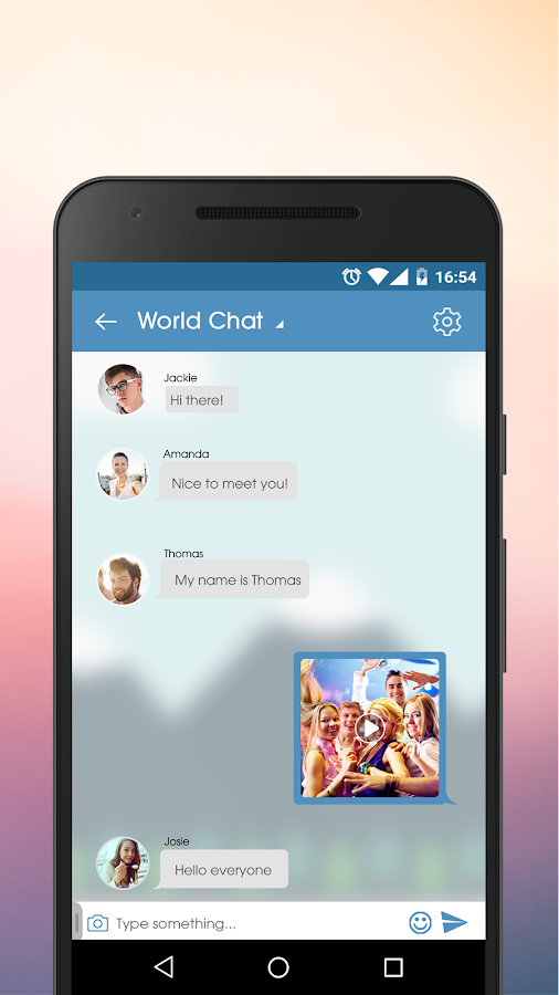 JustSayHi - Chat, Meet, Dating- screenshot