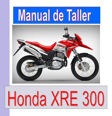 Honda XRE 300-manual-taller-despiece-mecanica
