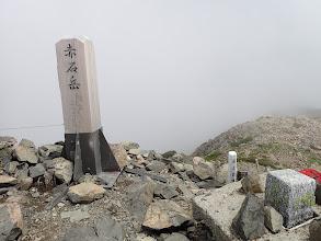 赤石岳山頂