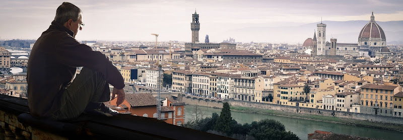 Al piazzale Michelangelo di alidabrivio