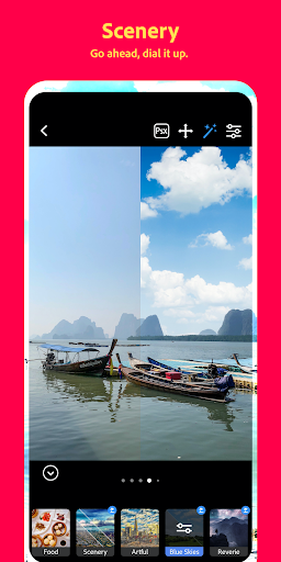Adobe Photoshop Camera screenshot 11