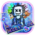 DJ Neon Galaxy Keyboard