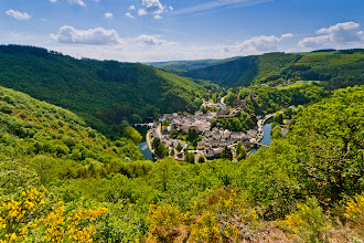 Photo: This is definitely not the best photo I've ever taken but it's a stunning spot regardless. The town of Esch-sur-Sûre towards the north of Luxembourg is well worth a visit should you ever get the chance.
