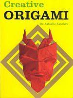 Photo: Creative Origami, Japan Pubns; Kasahara, Kunihiko  ISBN 0870404113  Dimensions (in inches): 0.62 x 11.59 x 8.33   or Creative Origami,Pitman Publishing, 1970  ISBN 0273315137, hardback, 180pp  210 x 300 mm (original)