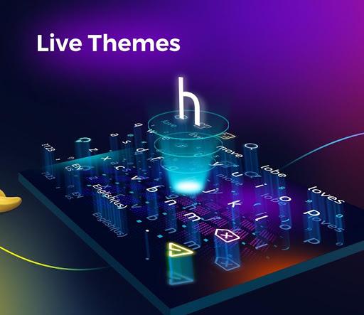 Cheetah Keyboard-Gif,Emoji Keyboard&3D Themes  screenshots 4