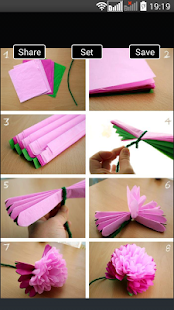 Flower Making Step By Step - náhled