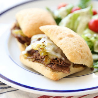 Pepperoncini Beef Sandwiches.