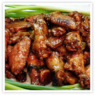 Soy Sauce Chicken Wings.