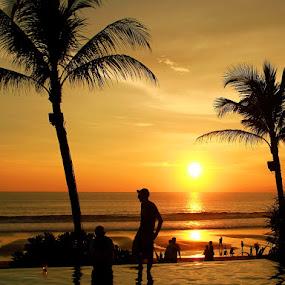 Golden Sunset in Bali... by Baron Danardono Wibowo - People Street & Candids