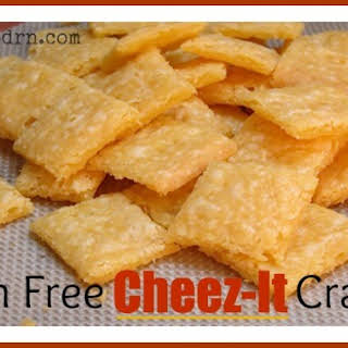 Gluten Free Cheez-It Crackers.