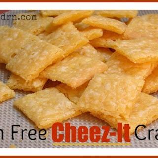 Gluten Free Cheez-It Crackers.