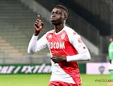 Krépin Diatta toujours absent avec Monaco