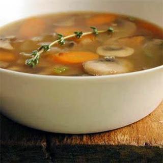 Barley-Mushroom Soup