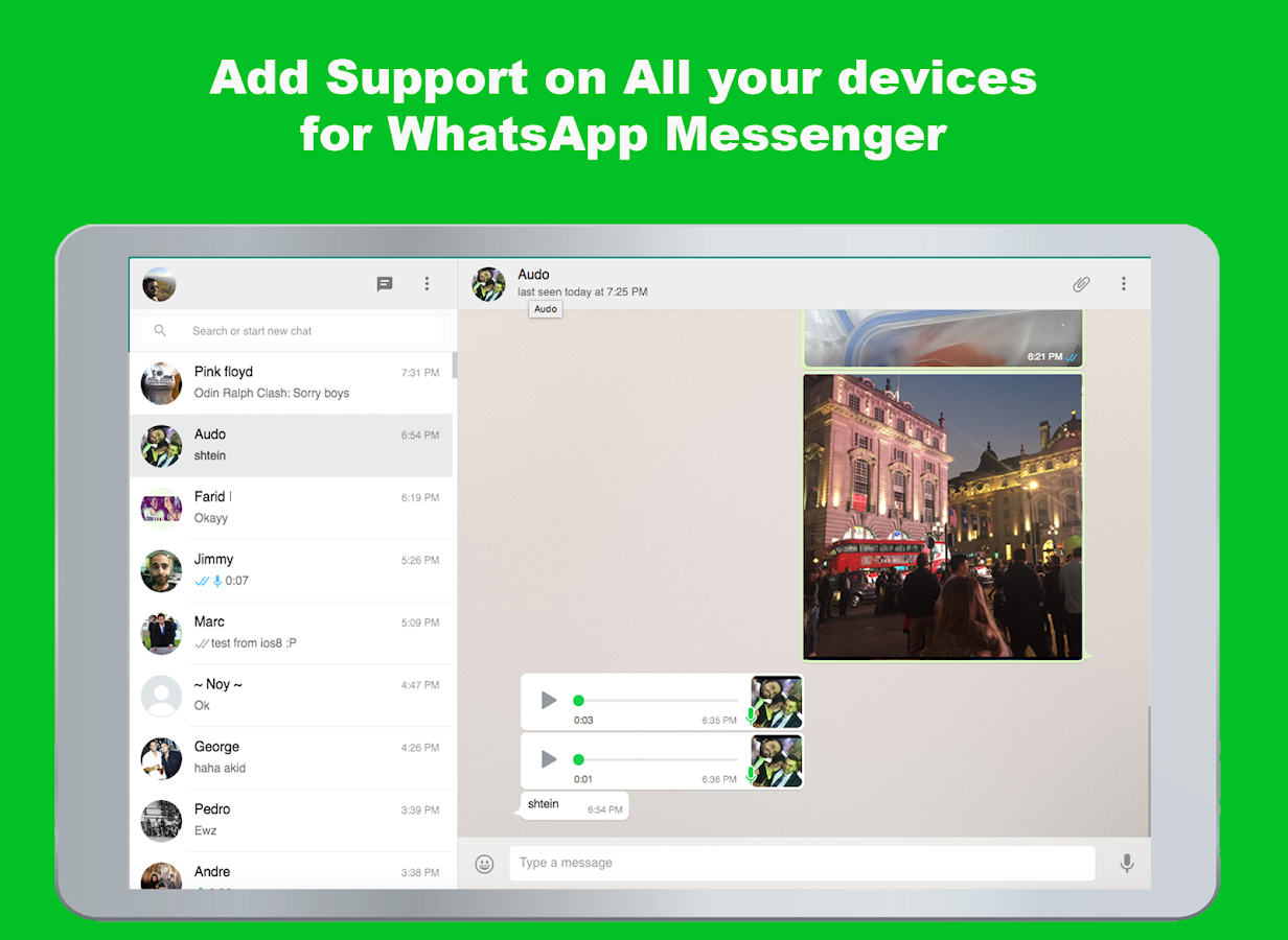 Messenger for Whatsapp- screenshot