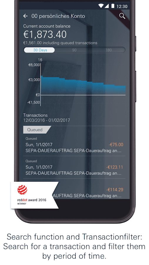 Deutsche Bank Mobile- screenshot