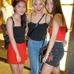 cute Chinese halloween girls at LKF, HK in Hong Kong, , Hong Kong SAR