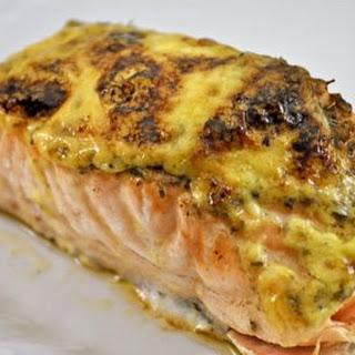 Baked Salmon with Lemon Mayonnaise Recipe