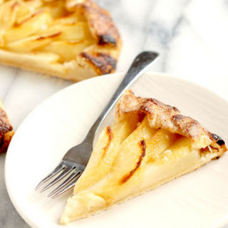 Pear Galette with Ginger.