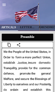 us constitution and amendments for PC-Windows 7,8,10 and Mac apk screenshot 2