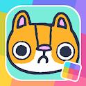 Hackycat: Kick Cats to Save Them! icon