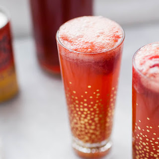 Baby Shower Strawberry Ginger Punch.