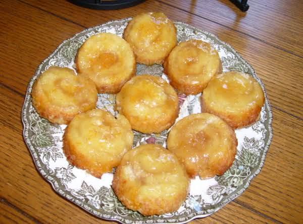 Upside-down Orange Biscuits