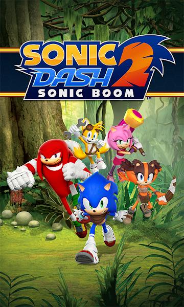 Sonic Dash 2: Sonic Boom v1.7.6 (Mod)