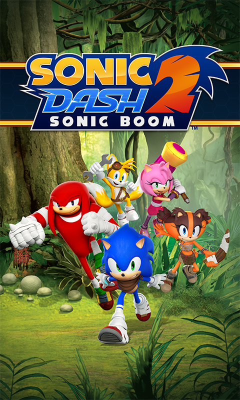 Sonic Dash 2: Sonic Boom screenshot #1