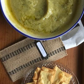 Zucchini & Cauliflower Soup.