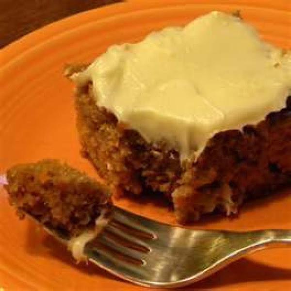 Carrot Spice Cake Recipe