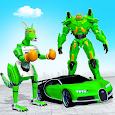 Kangaroo Robot Car Game: Robot Transforming Games