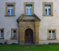 Photo: Sandstein-Portal an der Nordseite.