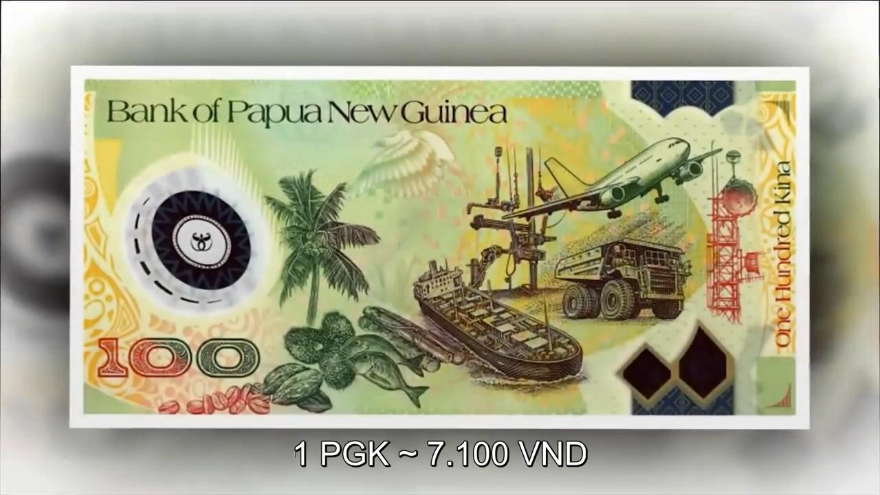 Đồng Kina được xem là một trong 10 đồng tiền đẹp nhất vì những hình ảnh  được in trên tờ tiền rất nghệ thuật và mang đậm tính dân tộc của vùng ...