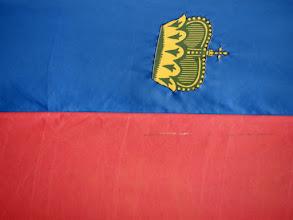 Photo: Flag of Lichtenstein