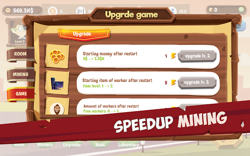 Mining Simulator - Idle Clicker Tycoon apktram screenshots 6