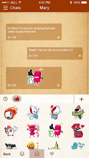 mod Old Paper Typany Theme 4.5 screenshots 3