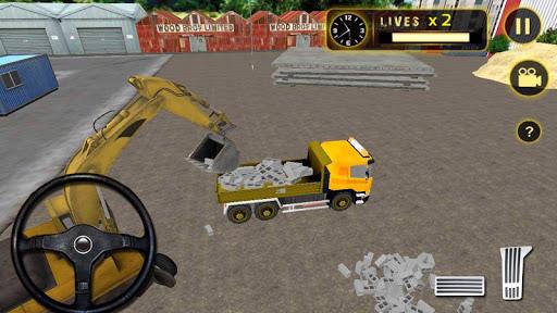 重型挖掘機起重機辛3D