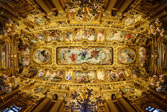 Photo: Here's the ceiling of the Paris Opera I shot recently. It's over 7000 pixels across if you want to zoom in! I upload max rez to G+... so you can make it your hi-rez wallpaper orwhateveryou like... enjoy! :)
