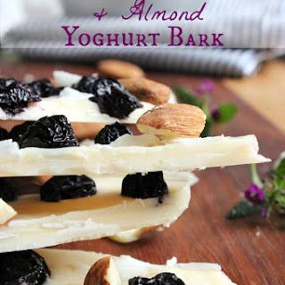 Blueberry Coconut and Almond Yoghurt Bark