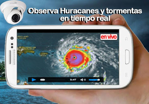 Huracanes y Tormentas - Monitor en vivo screenshot for Android