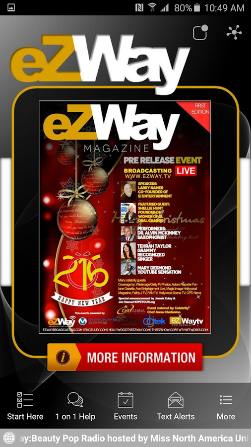 EZ Way- screenshot