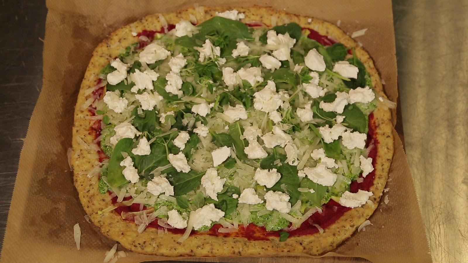 Пицца из цветной капусты от создательницы бренда здорового фастфуда Оли Малышевой